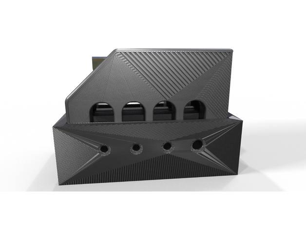 3D printed filament cleaver