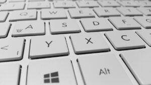 keyboard, computer, keys