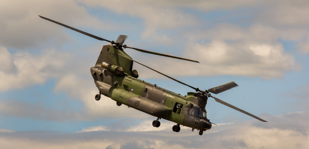 Canadian Forces Chinook Helicopter