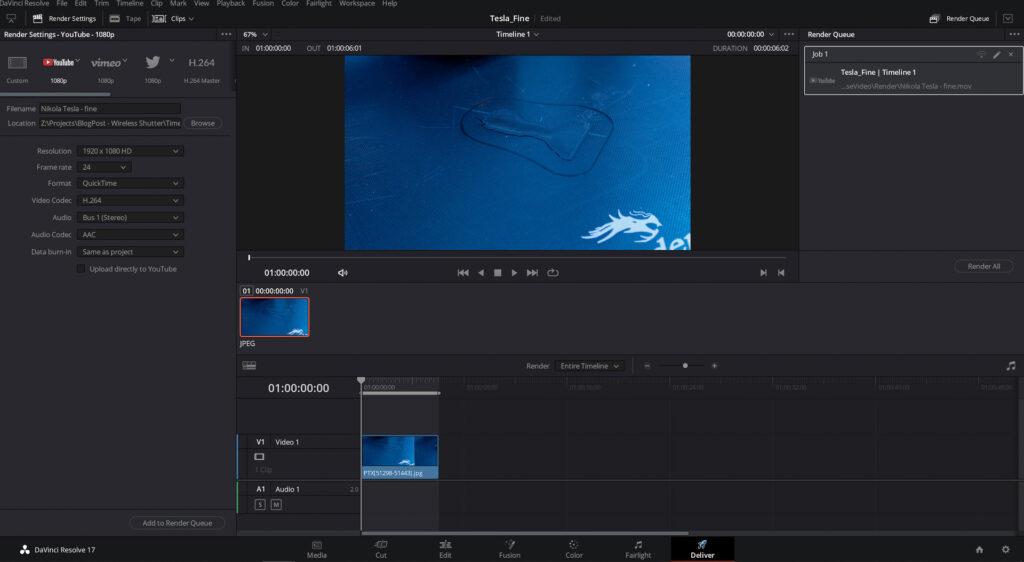 DaVinci Resolve Screen Capture
