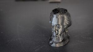 MozartBust 3D Printed