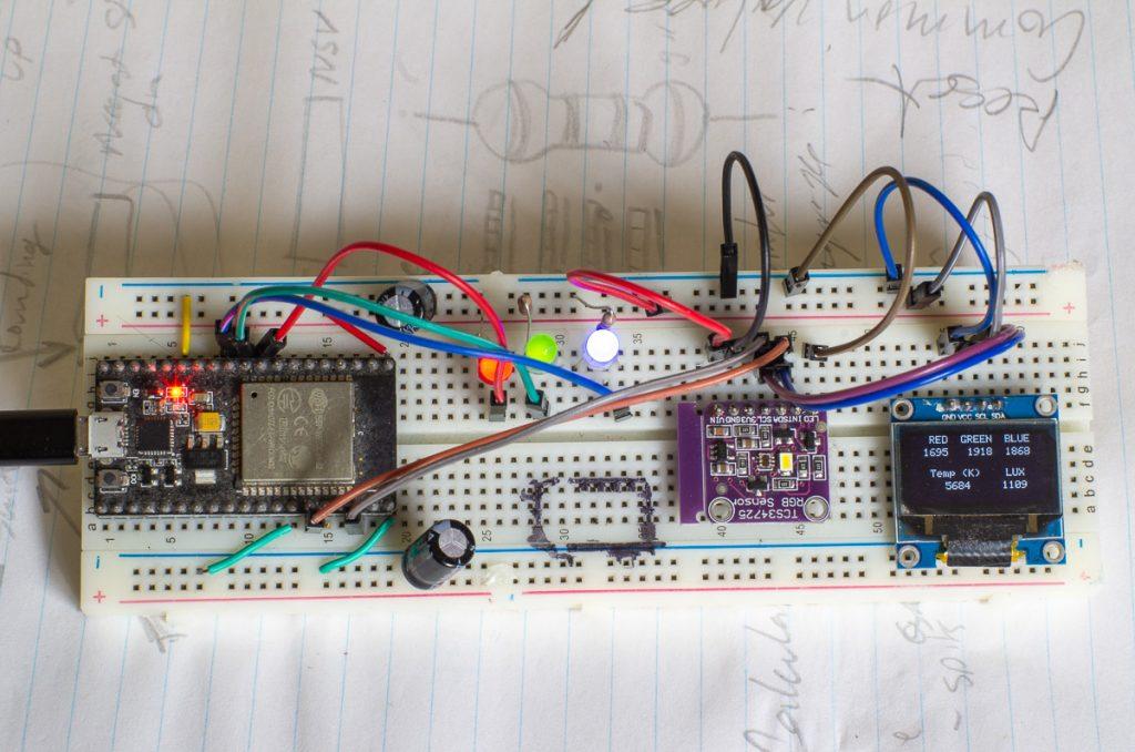 Prototype RGB Light Sensor