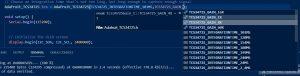 TCS34725 Gain Options Screen Capture
